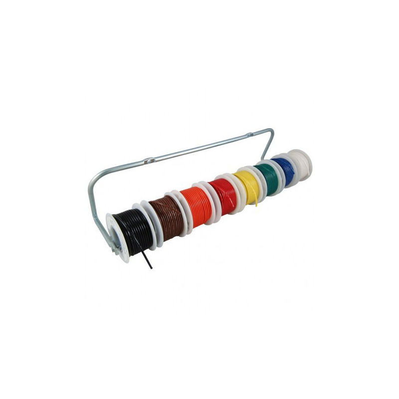 HOOK UP WIRE 22AWG BLACK - 200FT