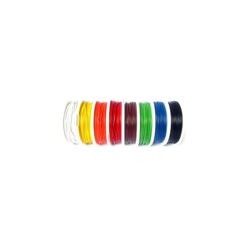 HOOK UP WIRE 18AWG YELLOW - 100FT