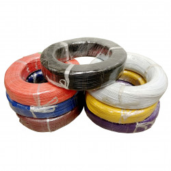 HOOK UP WIRE 22AWG ORANGE -...