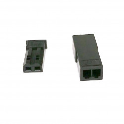 JST CONNECTORS SYP SERIES M/F 2P W/CRIMP PIN