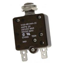 CIRCUIT BREAKER W58-XB1A4A-20 50VDC 20A