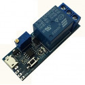 555 TIMER RELAY MODULE WITH USB SOCKET