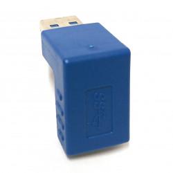 USB3.0 M/F ADAPTOR 90 DEGREE DOWN