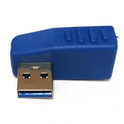 USB3.0 M/F ADAPTOR 90 DEGREE LEFT