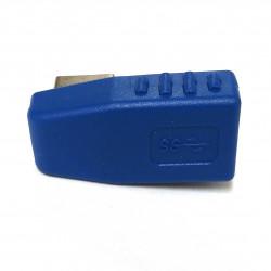 USB3.0 M/F ADAPTOR 90 DEGREE RIGHT