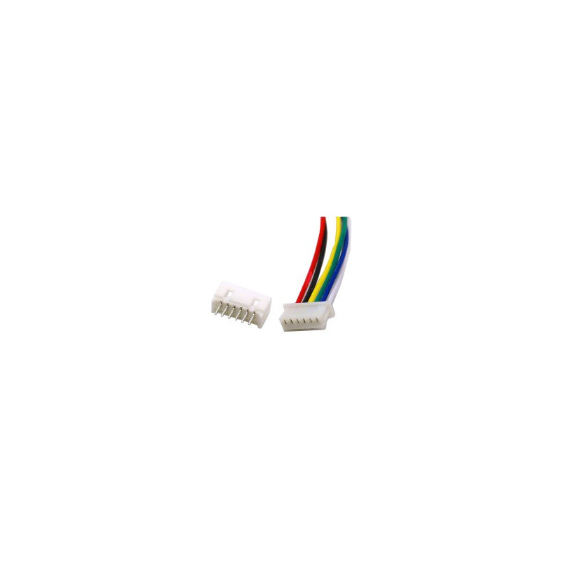 JUMPER WIRE, JST, 6PIN, 1.25MM (M/F) SET