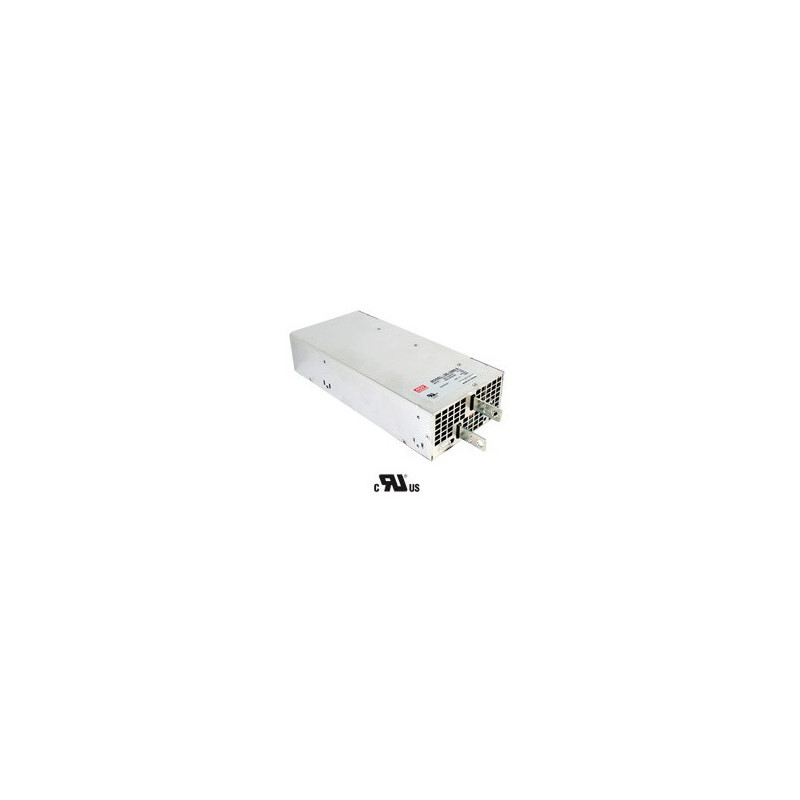 MEANWELL POWER, 200-240V IN, 12VDC OUT, 1500W, 7.5A