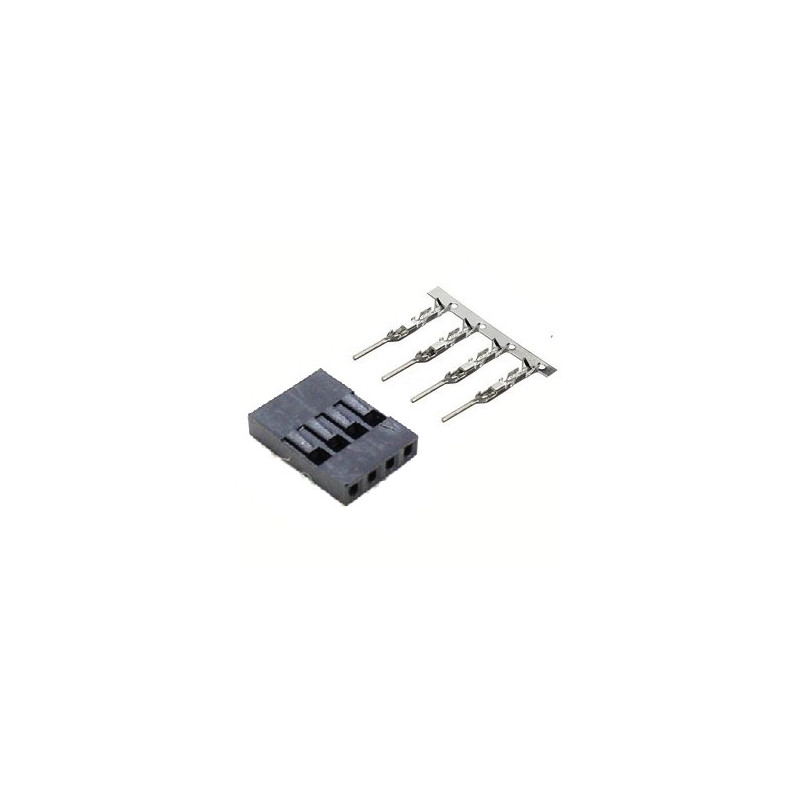 DUPONT BREADBOARD JUMPER TERMINAL 4P (M) 2PC/SET