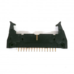 IDE / IDC EDGE SOCKET MOUNT CONNECTOR 30PIN LATCH