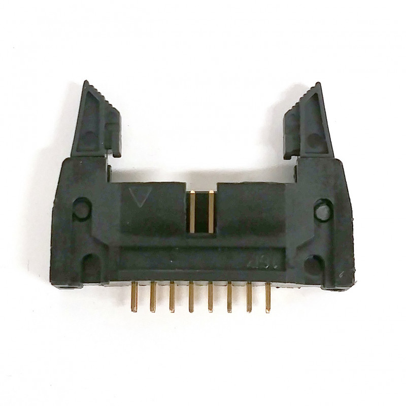 IDE / IDC EDGE SOCKET MOUNT CONNECTOR 16PIN LATCH