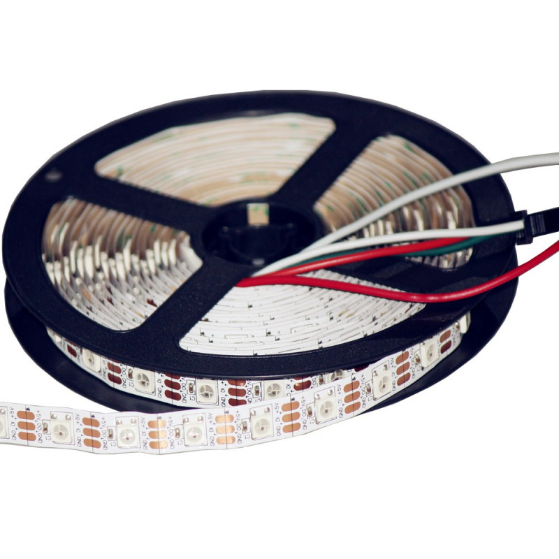 NEOPIXEL LED STRIP NON-WATERPROOF WS2812 60LED/METER