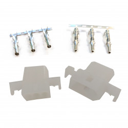 "MOLEX CONNECTORS, 3POS, 0.092""/2.36MM (M/F) W/PINS"