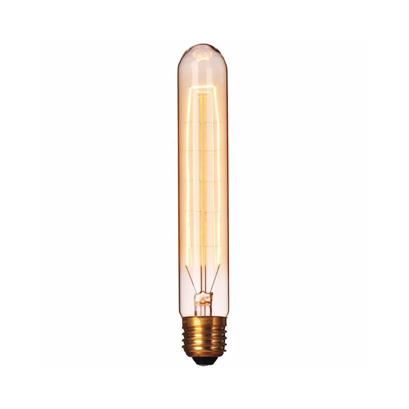 VINTAGE LIGHT BULB T185 TUBE 25W 120VAC E27