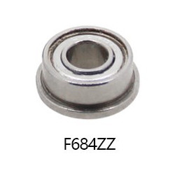 LINEAR BALL BEARING F684ZZ OD: 9MM ID: 4MM H: 4MM