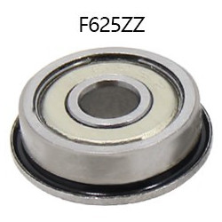 LINEAR BALL BEARING F625ZZ OD: 16MM X ID: 5MM X H: 5MM