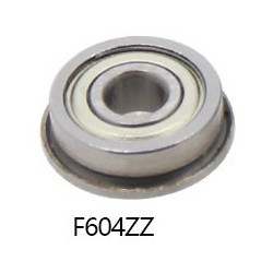 LINEAR BALL BEARING F604ZZ OD: 12MM X ID: 4MM X H: 4MM