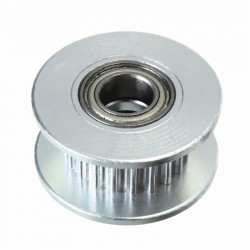 TIMING PULLEY, GT2, SHAFT: 5MM, 6MM TRACK WIDTH, 20 TEETH