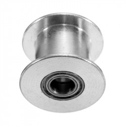 TIMING PULLEY, GT2, SHAFT: 5MM, 6MM TRACK WIDTH, NO TEETH