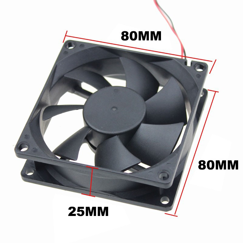 FAN 80X80X25MM 24VDC GENERIC
