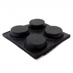 RUBBER FOOT CIRCULAR 4 PCS