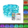 CONTROLLABLE 50 LED STRING LIGHT RGB W/ REMOTE 5 METER