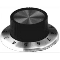 MODE FLANGED KNOB 0-10