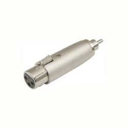 XLR 3-PIN FEMALE TO RCA MALE SLF-5858