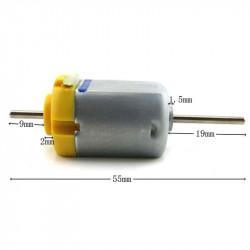 DUAL SHAFT 3VDC MOTOR 103