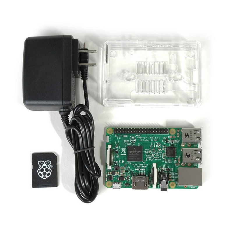 RASPBERRY PI 3 OFFICIAL STARTER KIT