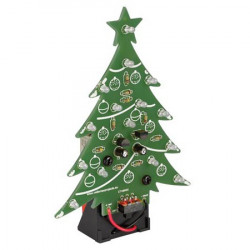 ELECTRONIC CHRISTMAS TREE BLUE LED BY VELLEMAN MK100B