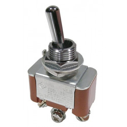 TOGGLE SWITCH ON-OFF-ON 15A/125V CSA 42-425S-0
