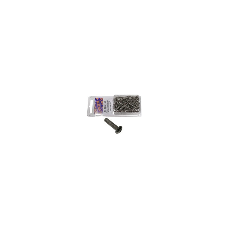 PHILIPS HEAD SCREWS 6-32 X 5/8 INCH LONG 100 PCS 54-533-100