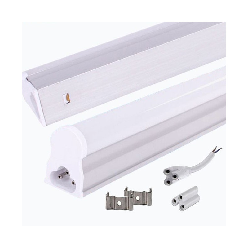 Led Fluorescent Light Tube T5 1 2m 6000k 3 Prongs Connect