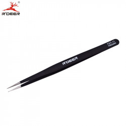 TOOL, TWEEZER, ANTISTATIC, FINE NARROW TIP, TST-11