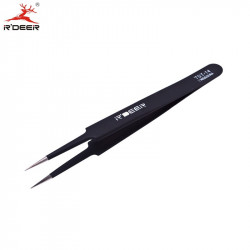 TOOL, TWEEZER, ANTISTATIC, POINTY TIP, TST-14