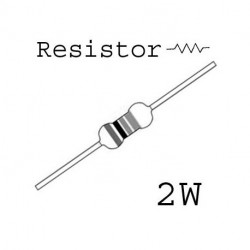 RESISTORS 2W 0.5OHM 1% 2PCS