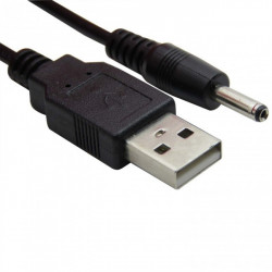 CABLE, USB TO 1.35MM X 3.5MM DC BARREL
