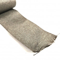 STAINLESS STEEL WOVEN BELT 4CM WIDE /FT