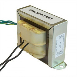 POWER TRANSFORMER IN: 115VAC OUT: 24VCT AC 3A CSA W/ WIRES