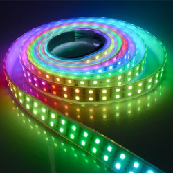 LED STRIP, /W CONTROLLER, 1812IC, /W TUBING, 5050, 720 LED