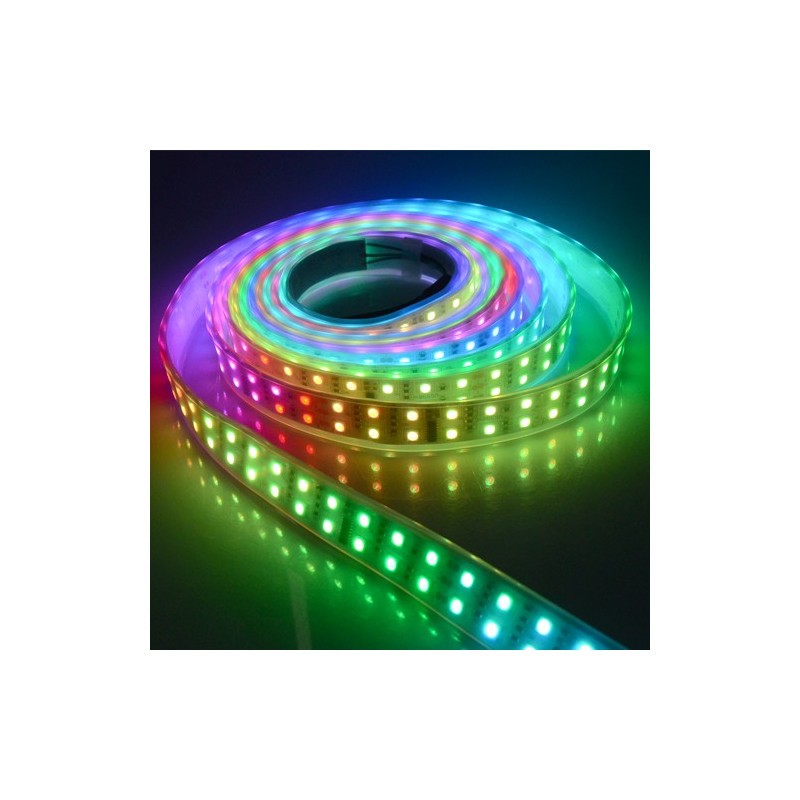 LED STRIP, /W CONTROLLER, 1812IC, /W TUBING, 5050, 720 LED