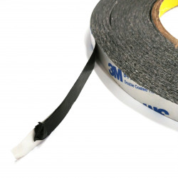 DOUBLE SIDED TISSUE TAPE, BLACK, HIGH ADHESIVE POWER, 9448A