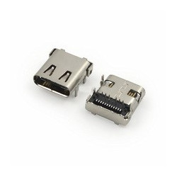 USB TYPE-C  PCB CONNECTOR, 90 DEGREE PIN OUT