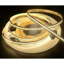LED STRIP, 3528, 240 LED, WARM WHITE, 3500K - 1M 12VDC