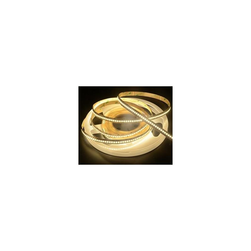 LED STRIP, 3528, 240 LED, WARM WHITE, 3500K - 1M 12VDC