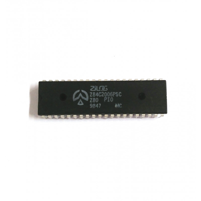 IC Z84C2006PSC PARALLEL I/O PORT CMOS MICROPROCESSOR DIP40