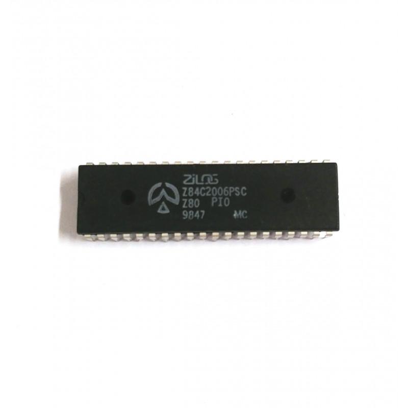 IC Z84C2006PSC PARALLEL I/O PORT CMOS MICROPROCESSOR DIP40