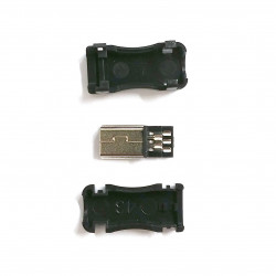 USB DIY CONNECTOR SHELL - TYPE MINI-B PLUG