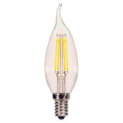RCA VINTAGE DIMMABLE LED BULB WITH CANDELABRA BASE 4.5W