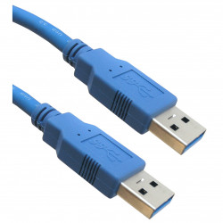 USB CABLE 3.0 MALE TO MALE CABLE - 6 FT